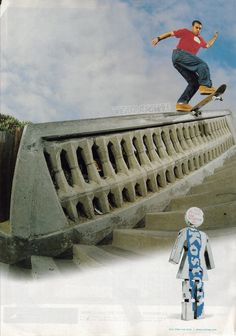 "Girl ad, ""Yeah RIght"" Eric Koston, 1993(?)"