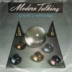 "Modern Talking - Cheri, Cheri Lady (Vinyl 7"") 1985 Portugal"
