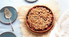 Summer is the season of grilling, swimming, s'mores—and fresh berries!When the farmers markets abound with juicyblueberries, blackberries, and strawberries, whip upthis gluten-free and Paleo-friendly pie. The maple crumble topping and almond flour crustrecreate that classic All-American flavor, but if you're feeling adventurous, sprinkle a few fresh thyme leaves and a pinch of cardamom into the filling for a surprising twist.