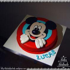 Happy Birthday | MICKEY MOUSE CAKE |  :) #mickeymousecake #MickeyCake #cakeDecoration #cakeDesign #bolosdeberlinde #coolinary #sugarpastemickey