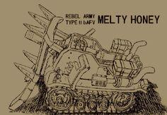 METAL SLUG .:. concept art