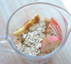 apple dessert health fast microwave