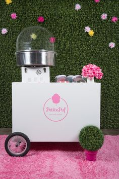 Petite Puf Cotton Candy Maker - How Perfect!