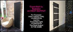Heated Towel Rail vs Radiator for Heat Output