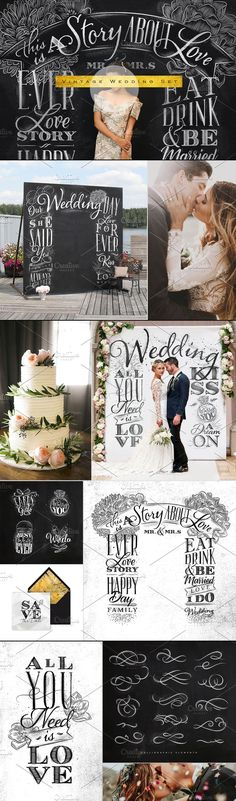 Vintage Wedding Clipart and Illustrations on Creative Market. Digital design goods for personal or commercial projects. Graphic design elements and resources.
