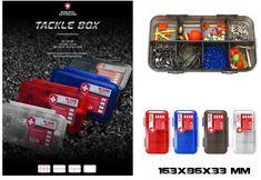 Tackle Box Scatola Porta accessori Moncross Trasparente - EUR 7.50