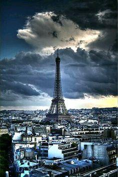 Paris, France, the Eiffel tower Torre Eiffel Paris, Paris Eiffel Tower, Places To Travel, Places To See, Beautiful World, Beautiful Places, Paris Tour, Paris City, Magic Places