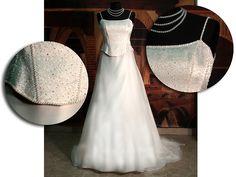 něžné svatební šaty - výprodej
