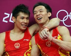 China celebrates gold in men's Artistic Gymastics