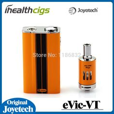 100% Original Joyetech eVic VT 5000mah Mod Evic VT Temperature Control Mod with eGo ONE Mega Atomizer Ni 0.2ohm Evic VT Kit Specifation:oyetech eVic- VT is a uniquely different vaping mod, 60W power and 5000mah, comes with the new cutting edge technologyof temperature control, supports VT-Ti (Titanium), VT-Ni (Nickel 200)  #RokokElektrik http://vaper.ga/x26jb