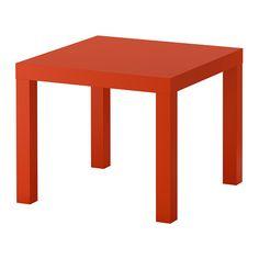 LACK Tafeltje IKEA Eenvoudig te monteren. Lichtgewicht; makkelijk te verplaatsen.