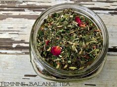 Feminine Balance Tea - a fantastic hormone balancing herbal tea that you'll want to drink every day!