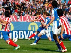 El Atlético de Madrid jugó un pésimo partido. Sin paliativos. Casi en ninguna fase del encuentro tuvo el control del mismo, dejando la iniciativa a la Real Sociedad, que ella no quería, oiga, pero que si se lo ponían tan fácil, no iba a desaprovechar la oportunidad como profesionales que son. http://www.forzaatleti.com/2012/05/ella-no-queria/