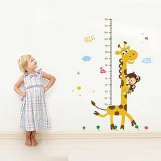 Jirafa Altura Gráfico para niños