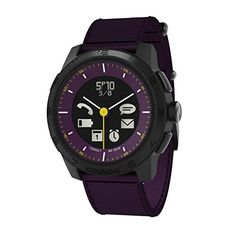 Cookoo 2 SmartWatch, Purple – Retail Packaging  For the awesome Cookoo Smartwatches make sure you visit: http://www.smartwatchnet.com/product-category/smartwatches/cookoo/  #cookoo #smartwatch #wearables