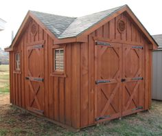 This is an idea for the shed in the front and the playhouse on the side.