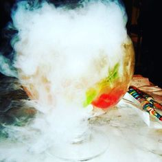 Favourite Fish bowl cocktails of 2017 @sugarfactorylv what a great way to spend an afternoon #sugarfactory #sugarhigh #dryice #cocktailbar #cocktailparty #cocktail #cocktails #itsfiveoclocksomewhere #mixology #mixologyart #bartenderlife #bartender #bartenders #lasvegas #vegas #vegasready #sincity #thestrip #lasvegasblvd #ilovelasvegas #ilovevegas #fishbowl #fishbowlcocktails #thesocialmediavirgin #favouriteplace Dry Ice Drinks, Fun Drinks, Alcoholic Drinks, Cocktails, Fishbowl Cocktail, Cocktail Shots, Las Vegas Blvd, Bartenders, Friday