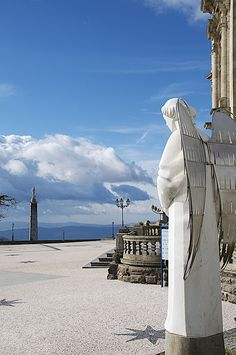 The Sameiro Sanctuary, Braga, Portugal Braga Portugal, Spain And Portugal, Portugal Travel, Portugal Destinations, Most Beautiful Cities, Beautiful Places To Visit, Minho, Funchal, Places To Travel