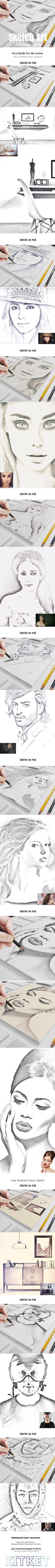 Sketch Art Photo Action