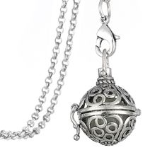 Find More Pendant Necklaces Information about Gothic Style Vintage Hollow Flower Antique Silver Plated Magic Glowing Ball Round Locket Pendant Diffuser Steampunk Necklace ,High Quality steampunk necklace,China steampunk style Suppliers, Cheap gothic style
