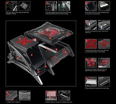 1000 Images About Pc Open Chassis Mod Build On Pinterest