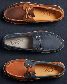 """114d6b36f5b1 Get dad the Gold (Cup) Standard in quality and craftsmanship with a pair of  our Gold Cup boat shoes.…"""""""