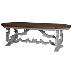 Dining Table 8'. Customize items with any of our wide range of finishes, colors, and hand painted artwork. Any item can be painted in over million ways enabling items to be truly unique. The possibility are nearly endless and include stained, distressed, textured, antiqued, weathered and metallic finishes. In addition, artwork is available on most items. Items can be customized with any of our hand painted designs.#StevenShell