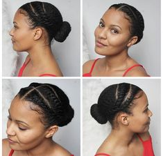 Protective style and a four pic collage. Very 2016 SimplyStasia. I've been having lots of fun trying new products for my wash and go but… - Protective Hairstyles For Natural Hair, Natural Hair Braids, Natural Hairstyles, Cabello Afro Natural, Pelo Natural, Afro Hairstyles, Vintage Hairstyles, Black Hairstyles, Haircuts