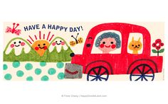 Happy Day, Flora Chang   Happy Doodle Land