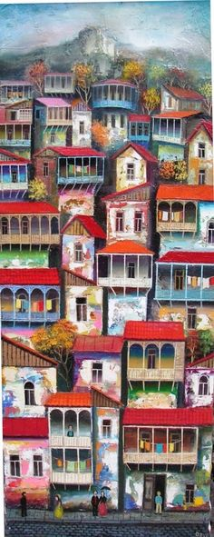 Pinzellades al món: Cases i veïns: il·lustracions de David Martiashvili / Casas y vecinos: ilustraciones de David Martiashvili / Houses and neighbors illustrations of David Martiashvili
