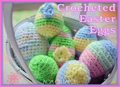 Crocheted Easter Eggs maybe for 2013