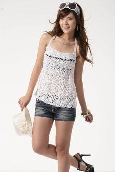 2014 sleeveless crochet women spring colorful pullover sweater