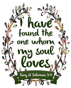 Printable Bible Verse - Song of Solomon 3:4