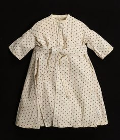 Child's Wrapper, 1860–69, Collection of Smithsonian Cooper-Hewitt, National Design Museum