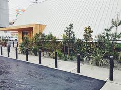 みつわクリニック:TREEFORTE Landscape Design work Landscape Design, Sidewalk, Doors, Outdoor Decor, Home Decor, Decoration Home, Room Decor, Landscape Designs, Side Walkway