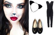 #Disfraz de gatica para halloween que puedes hacer tú misma en casa #moda