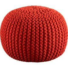 I used this pouf as an ottoman for my nursery.  I sit in my rocker and prop my feet up on this.  It's awesome!