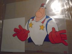 Super Dave Hand-painted Animation Cel Bam Box! With Coa Lot of 10 #bambox #superdave #ebay #animation #art