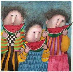 """JULY"" by Graciela RODO BOULANGER"