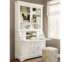Amazing Jasper Cabinet Arlington File Drawer Secretary Desk With Hutch Finish:  Asbury | Products | Pinterest | Cabinets, Secretary Desk With Hutch And  Painted ...