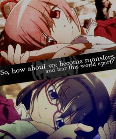 Puella Magi Madoka Magica ((Yeah that's another reason why they're posted here a lot.))