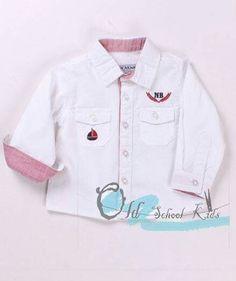 Camisa de bebé de algodón. De 3 a 24 meses. Síguenos en Facebook o Instagram @old_school_kids_