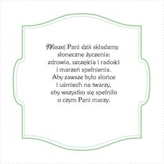 Polish Language, Templates, Blog, Den, Cards, Scrap, Stencils, Vorlage, Blogging