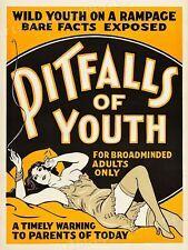 "20x28 /""Cocaine/"" 1930s Classic Adult Drug Movie Poster"