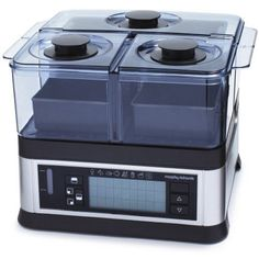 Viante CUC-30ST Intellisteam Counter Top Food Steamer with 3 Separate Compartments #cooking #cookware #kitchen