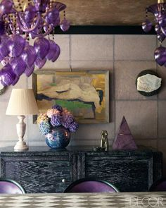 Kelly Wearstler. Elle Decor - Sept. 2012. Photography Mikkel Vang.