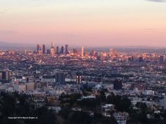 L.A. at Sunset from Runyon Canyon