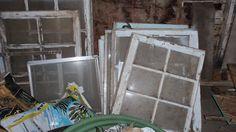 Refinishing an old farmhouse window