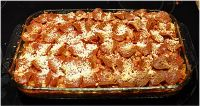 Healthy Pizza Casserole Recipe.  One of many Healthy, Cheap & Easy meals in our FREE E-Cook Book!  Get it here...