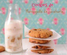 ¡Qué cosa tan dulce!: Cookies de mantequilla de cacahuete, caramelo y chocolate